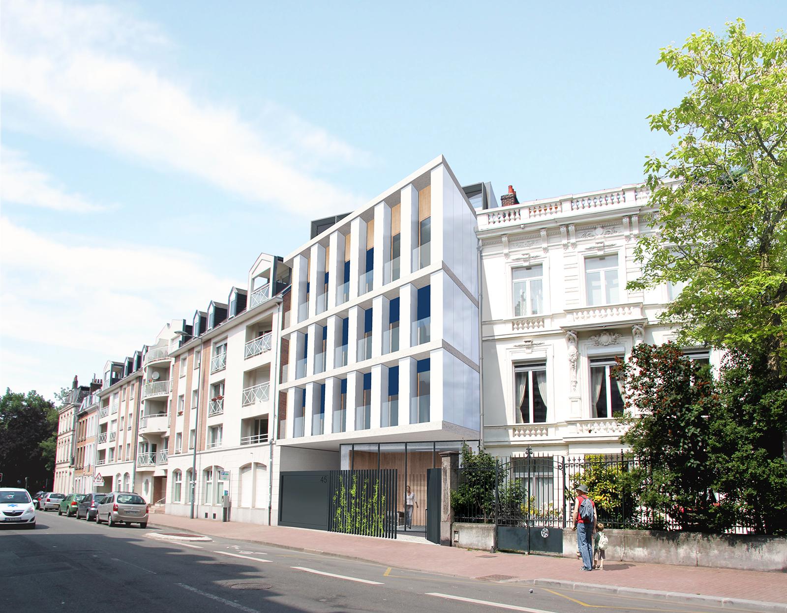 Logements solf rino lille 59 ccarchitecte for O architecture lille