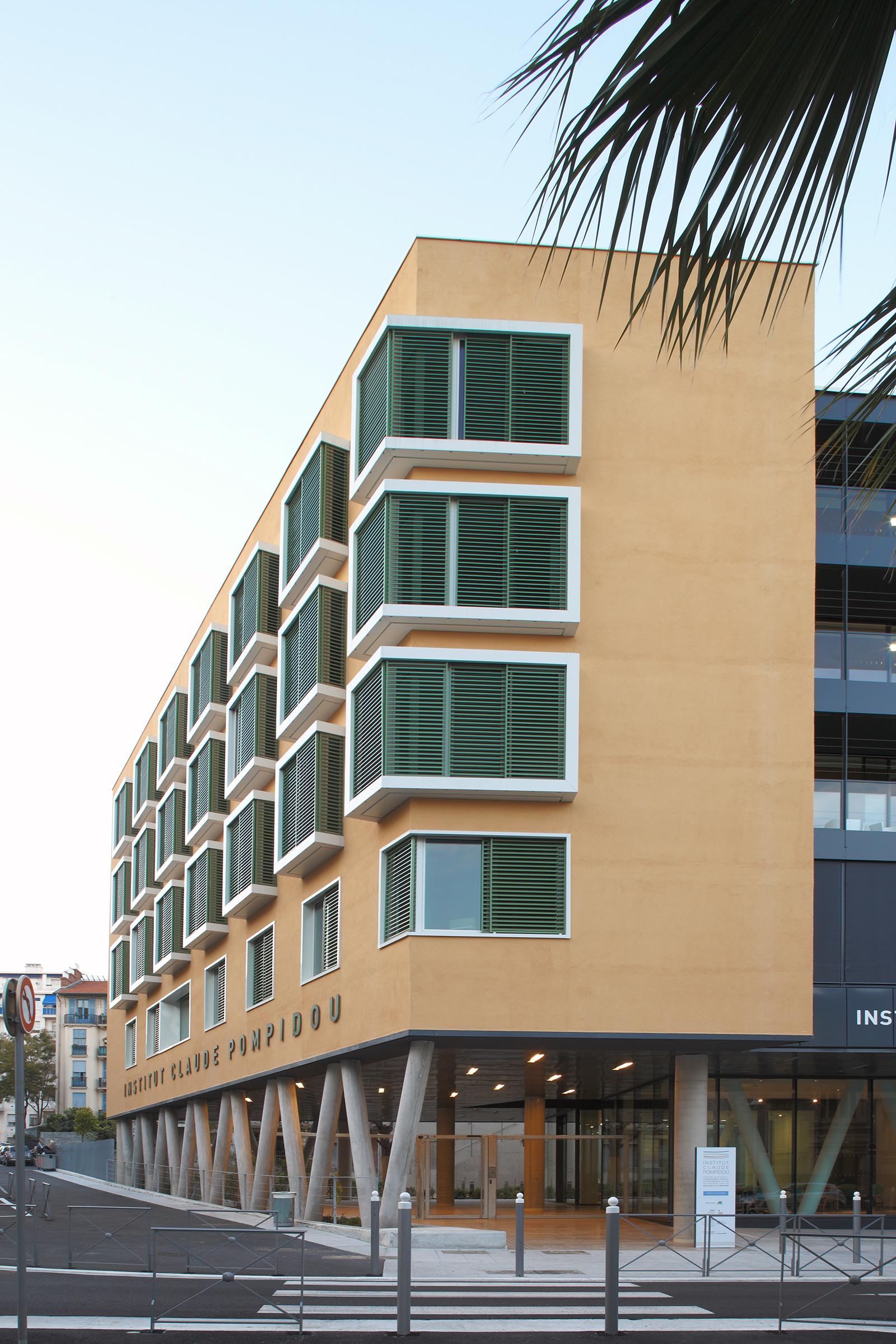 institut claude pompidou nice 06 ccarchitecte. Black Bedroom Furniture Sets. Home Design Ideas